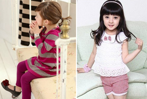 desain baju anak perempuan branded