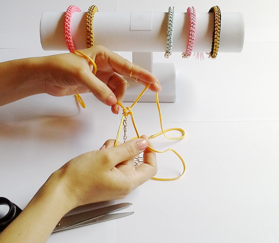 brazaletes de nudo