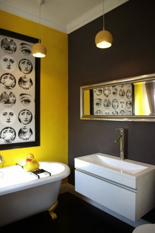 Awesome Chambre Jaune Et Noir Gallery - Seiunkel.us - seiunkel.us