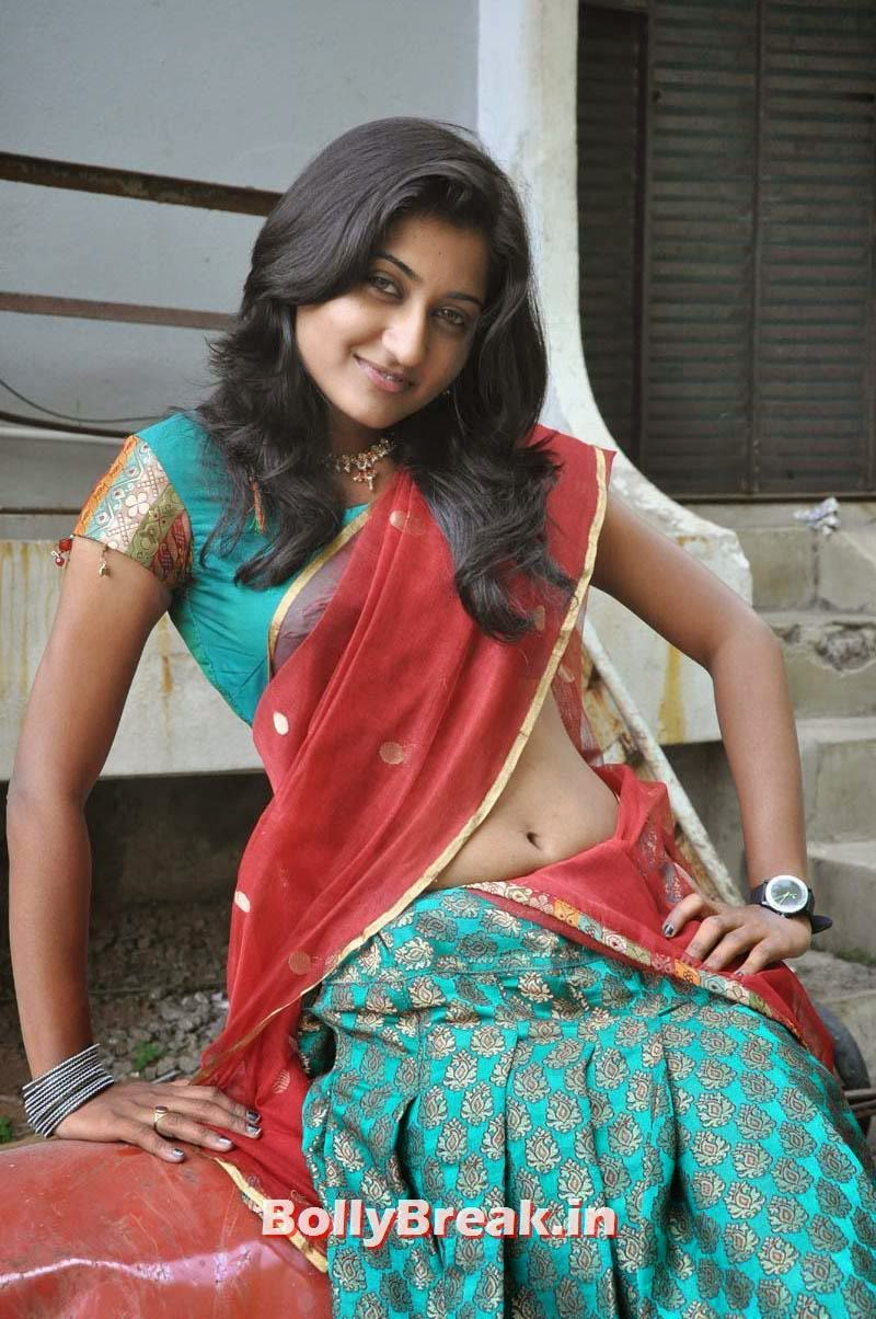 , Sri Vidya hot Photos in Saree