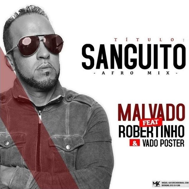 Dj Malvado Feat. Robertinho & Vado Poster - Sanguito