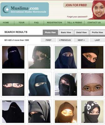 イスラム系の出会い系サイト