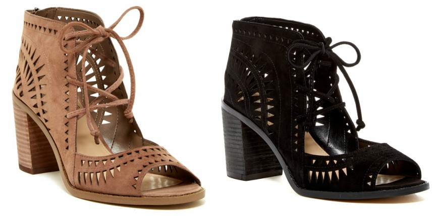 Saks Off 5th: Vince Camuto Tarita Laser-Cut Booties only $55 (reg $129) - Lowest Price!