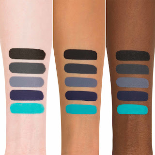 Kat Von D Liquid Lipstick Dreamer Swatch on light, medium, and dark skin