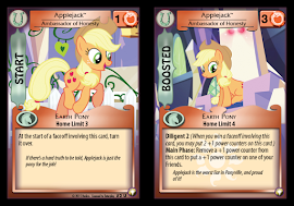 MLP Applejack, Ambassador of Honesty Equestrian Odysseys CCG Card