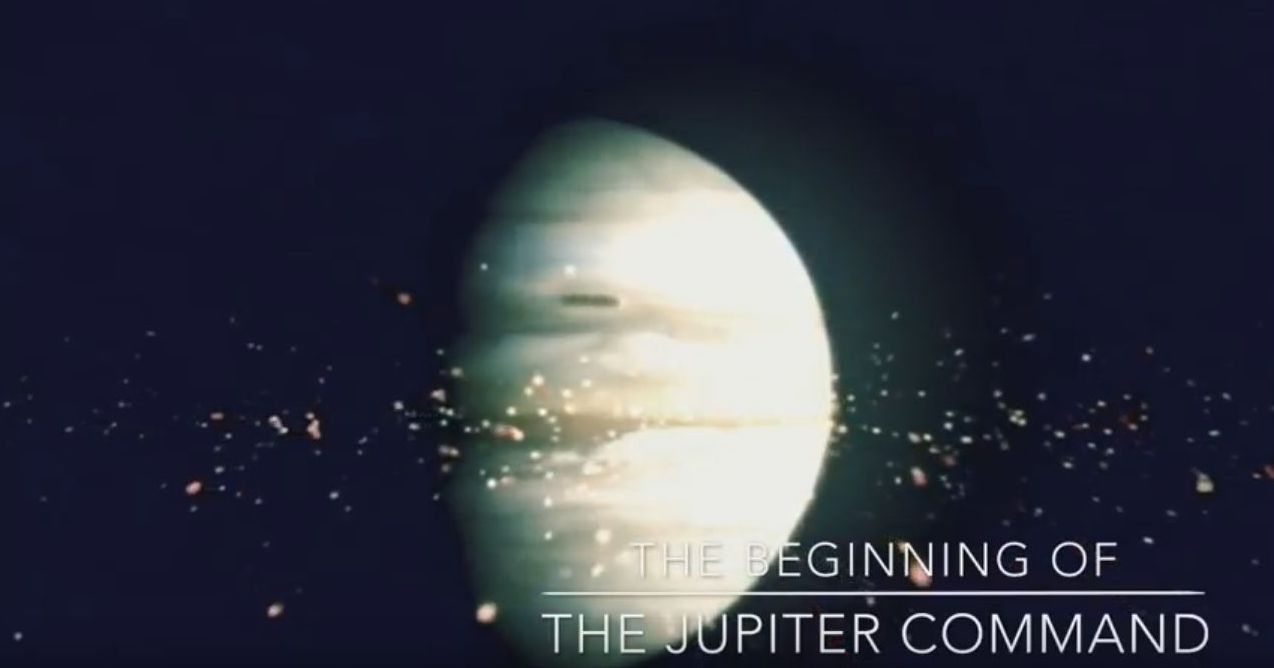 Quot Galactic Overview Of The Jupiter Command 12 15 18 Quot By
