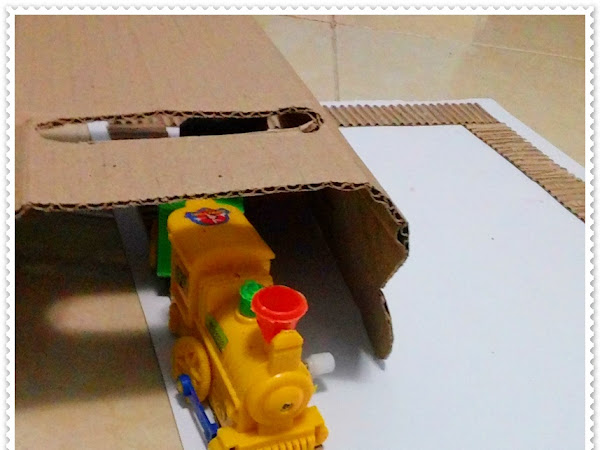 DIY Membuat Rel Kereta Api Mainan