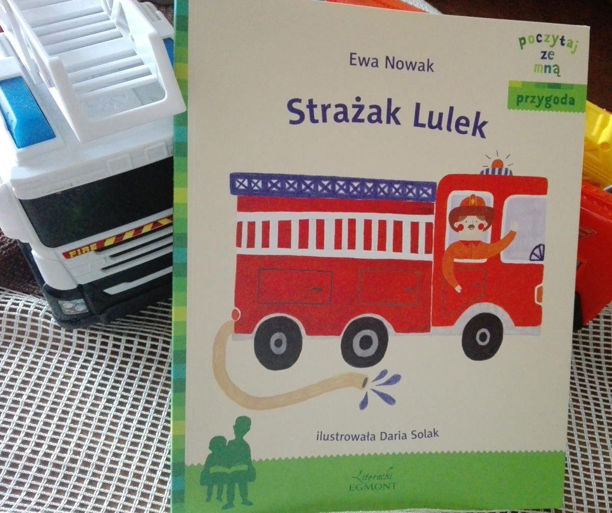 Strażak Lulek - przygodowa opowieśc dla fanów strażaków