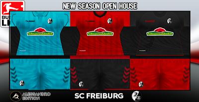 PES 6 Kits SC Freiburg Season 2018/2019 by Alessandro
