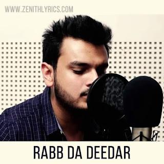 Rabb Da Deedar Lyrics - Anandi Mishra