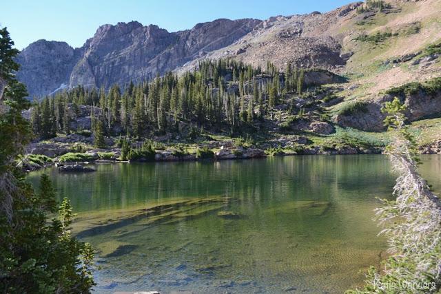 Cecret Lake Albion Basin