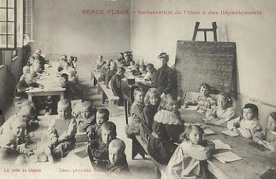 Sanatorium proche de Paris, début du XXème siècle, Oise (collection privée)