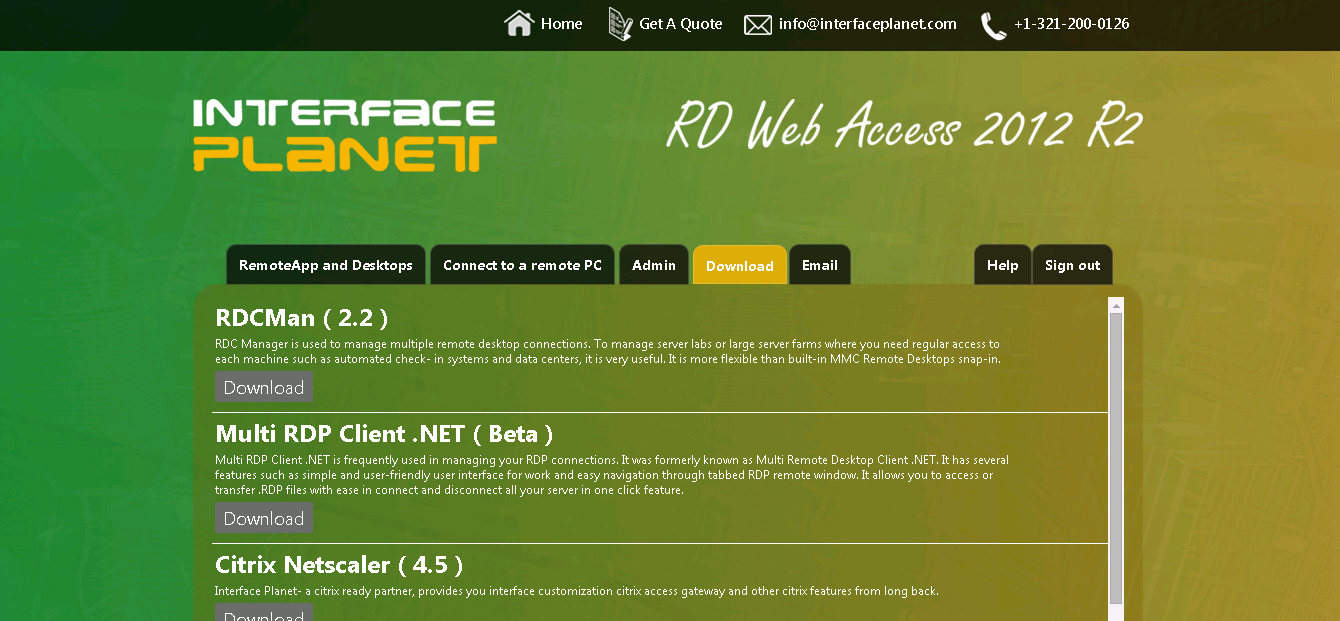 Adding Special Features to Remote Desktop Web Access