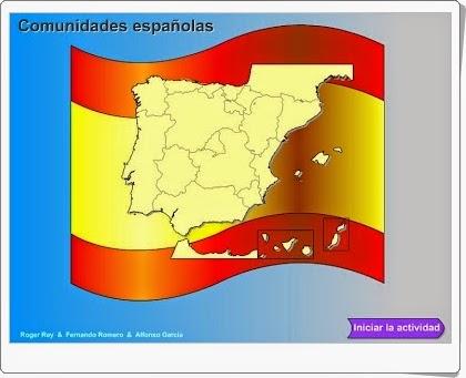 """""""Comunidades Españolas"""" (Juego de Genmagic)"""