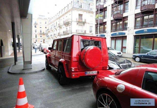 g-wagon red