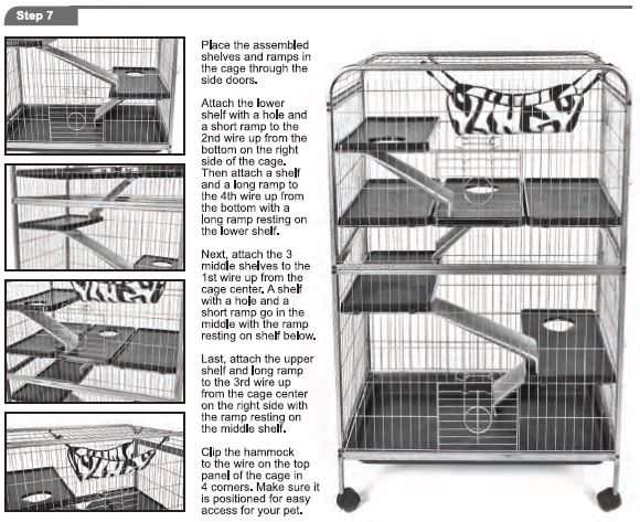 Critter cages blog living room series ferret home 01924 by ware mfg assembly instructions for Critter ware living room series