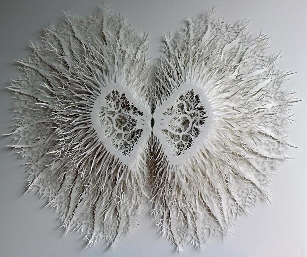 Rogan Brown Paper Sculptures