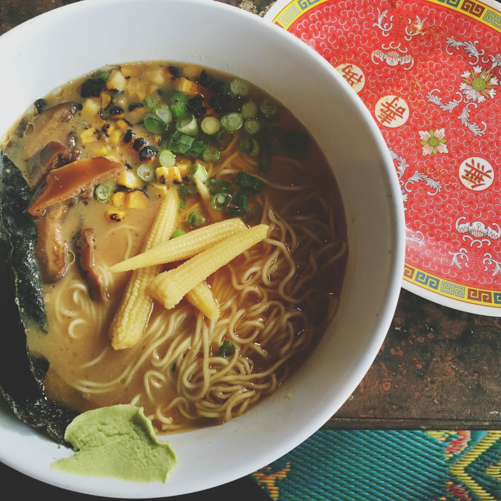 double miso ramen at Hot Joy - a restaurant in San Antonio, Texas