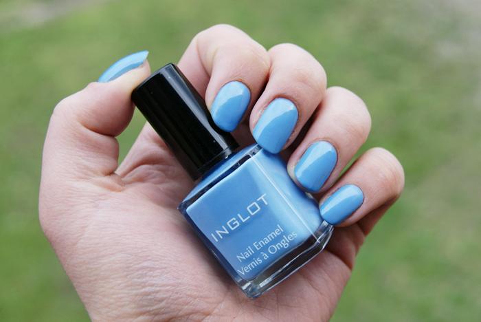 Inglot, lakier do paznokci niebieski błękit 392