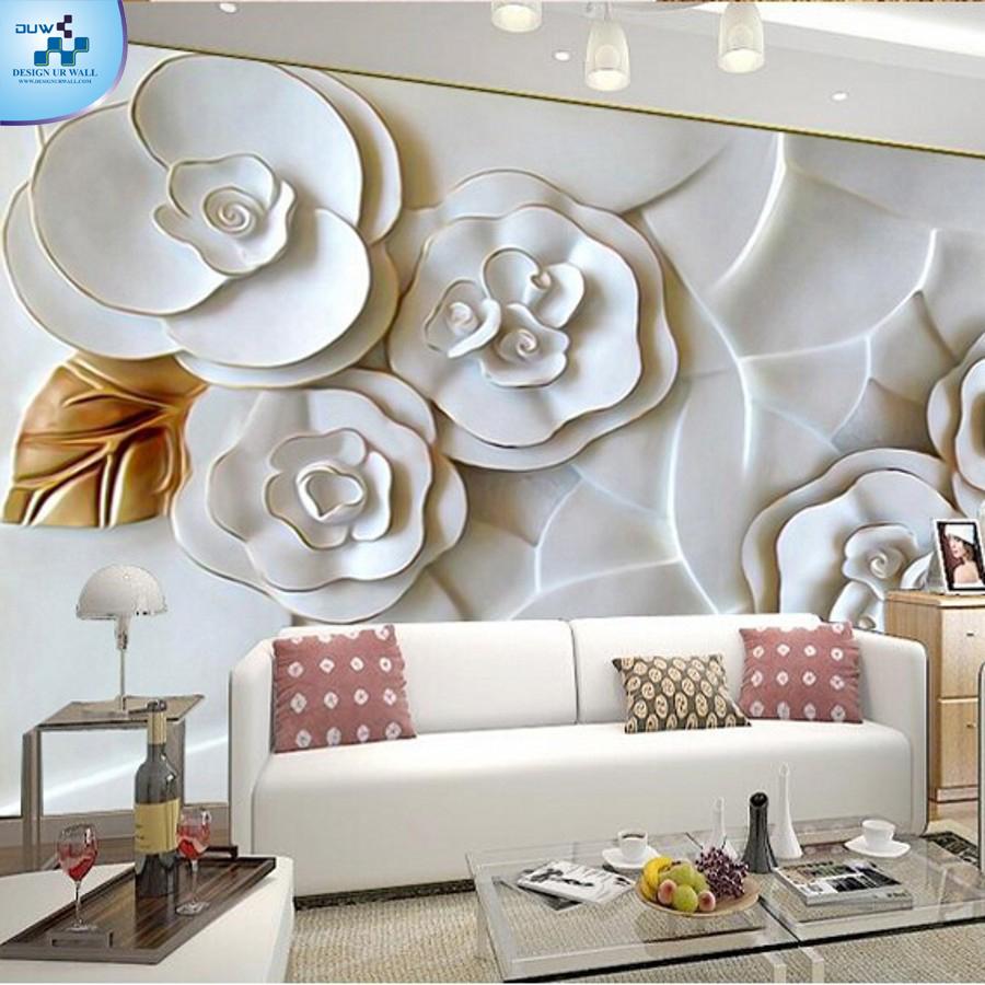 Imported Wallpaper Merchant Custom 3d Photo Wallpaper 3D Embossed