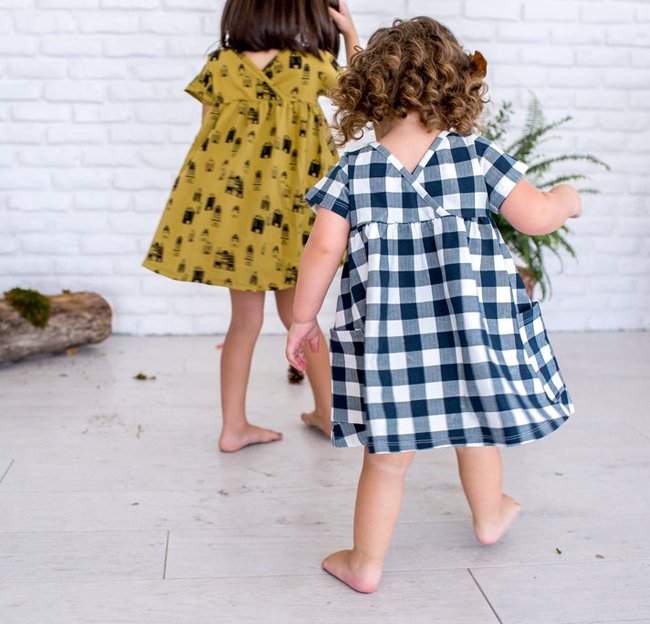 Fin & Vince AW16 kids fashion collection - dresses