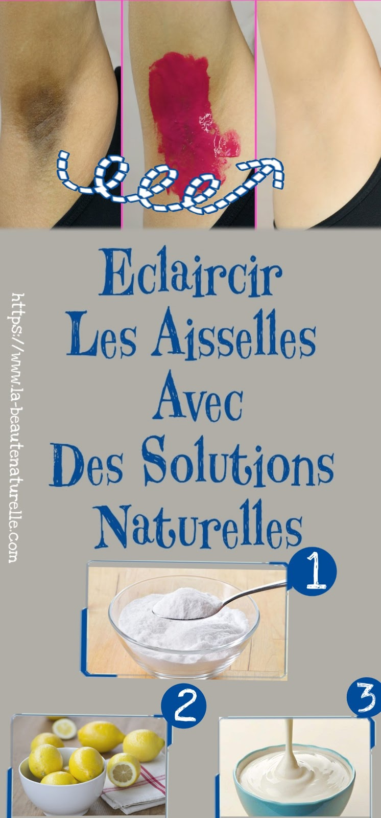 Eclaircir Les Aisselles Avec Des Solutions Naturelles