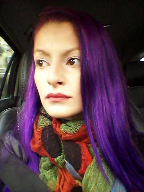 Ben noto Janis Garden: Capelli viola - Tinta per capelli semipermanente  CY89