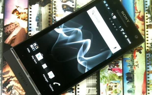 Sony Xperia S agora com Android 4.0