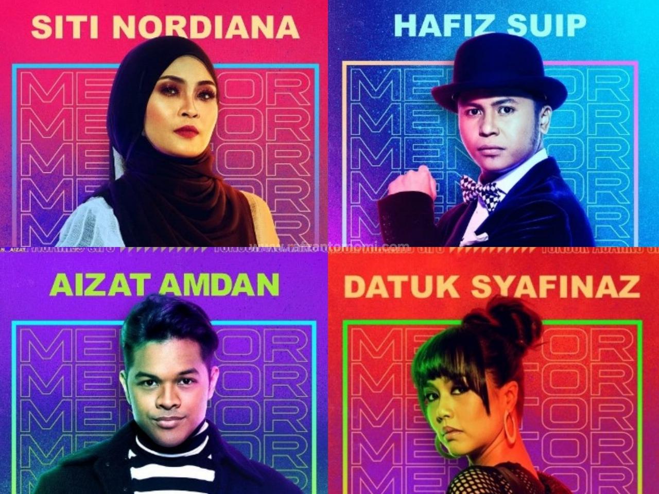 Mentor 7 -Senarai Peserta, Senarai Lagu & Keputusan Konsert Mingguan Mentor 2018