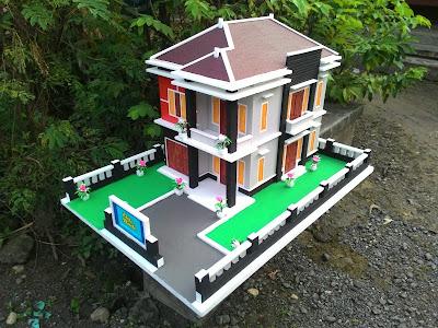 Jolen atau Maket Rumah Minimalis