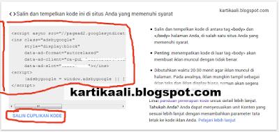 Cara Memasang Iklan Matched Content Di Blogger