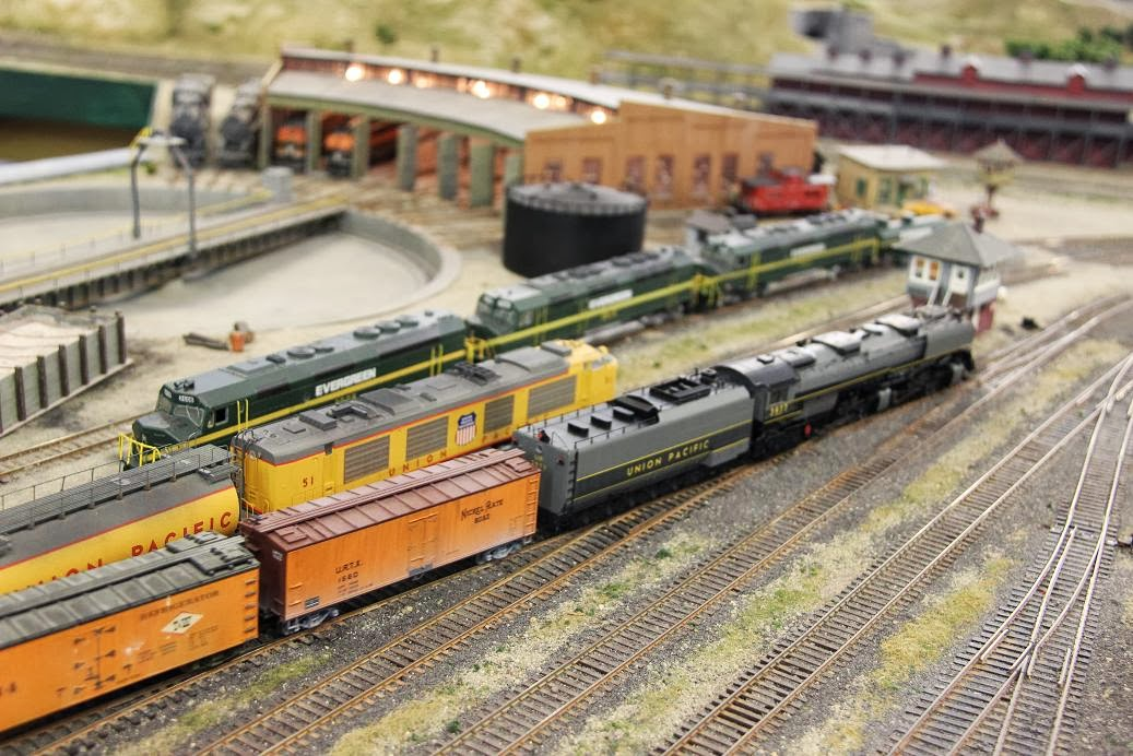 Evergreen Railroad Club: August 2013