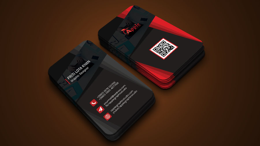 awesome 3d business card design photoshop tutorial - 3 D Business Card