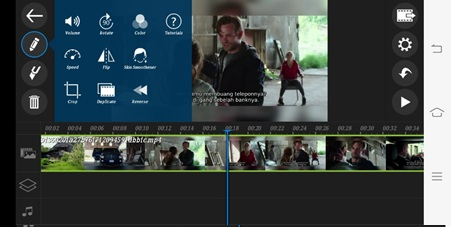 Cara Slow Motion di Powerdirector Android