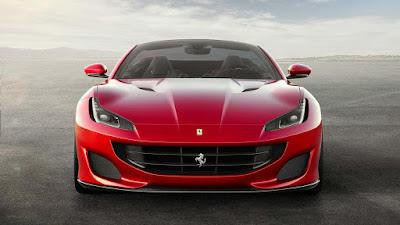 Ferrari Portofino, seperti sedang tersenyum