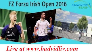 FZ Forza Irish Open 2016 live streaming