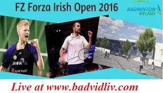 FZ Forza Irish Open 2016 live streaming