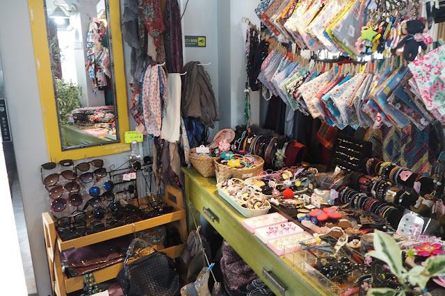 Shopping places at gamcheon cultural village busan