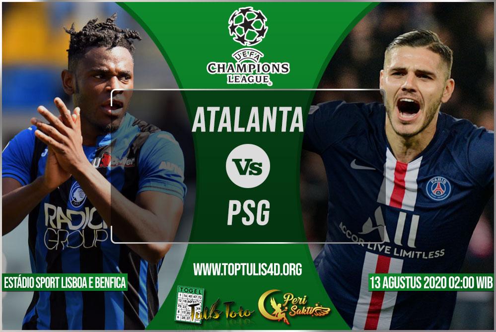 Prediksi Atalanta vs PSG 13 Agustus 2020