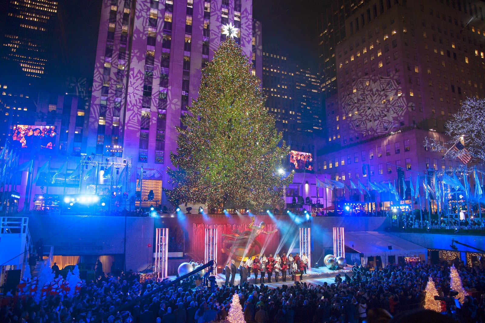 84th annual rockefeller center christmas tree lighting nyc