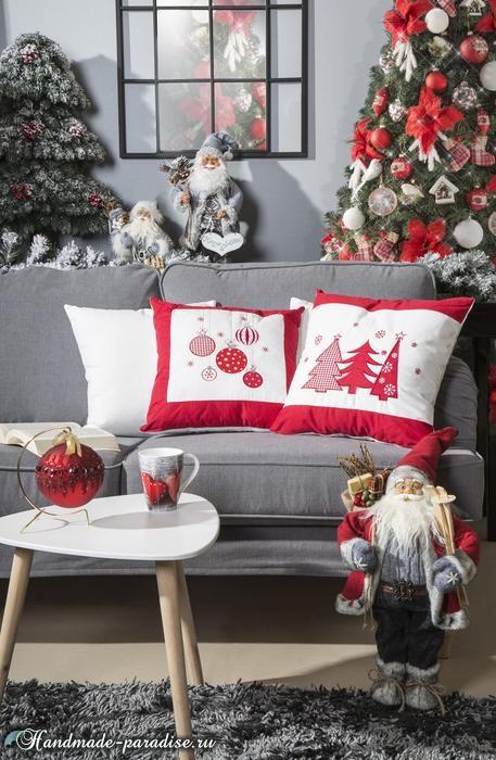 Красивый дизайн интерьера к Рождеству