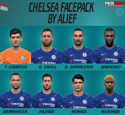 PES2017 CHELSEA FACEPACK BY ALIEF