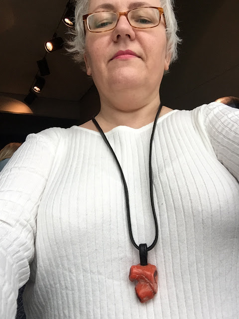 Kaffesoester's new coral necklace