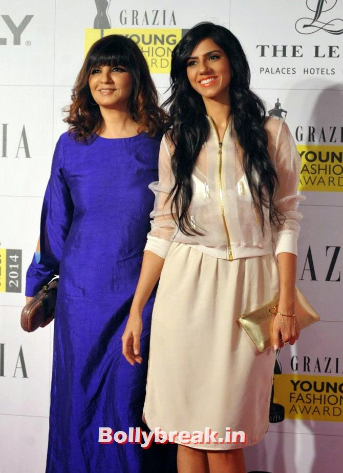 Neeta and Nishka Lulla, Grazia Young fashion Awards Pics