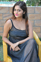 Pragya Nayan New Fresh Telugu Actress Stunning Transparent Black Deep neck Dress ~  Exclusive Galleries 064.jpg