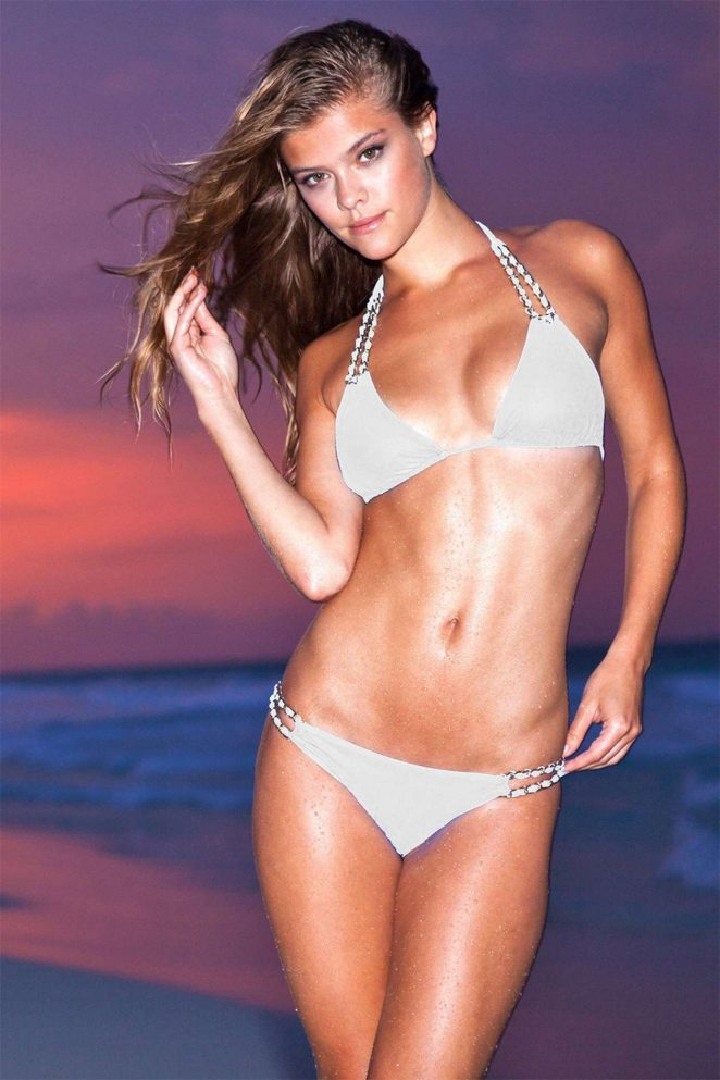 Sauvage Swimwear Lookbook 2017 featuring Nina Agdal