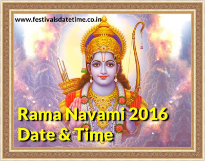 Rama Navami 2016 Date & Time in India