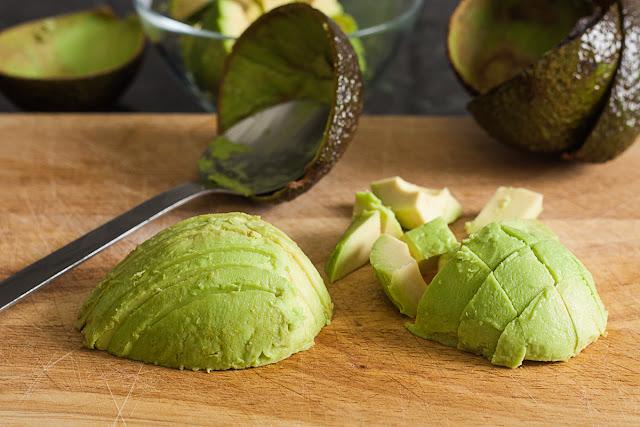Pripremljen avokado za korišćenje