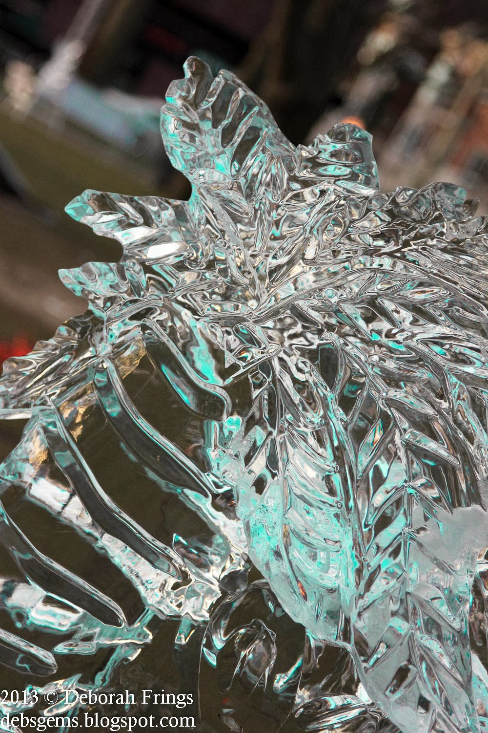 Plymouth Ice Festival January 2013 - photo by Deborah Frings - Deborah's Gems