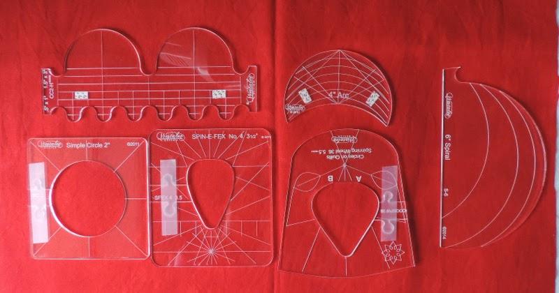 The Quilt Yarn Westalee Sampler Template Set